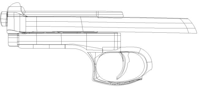 Pistol Outline